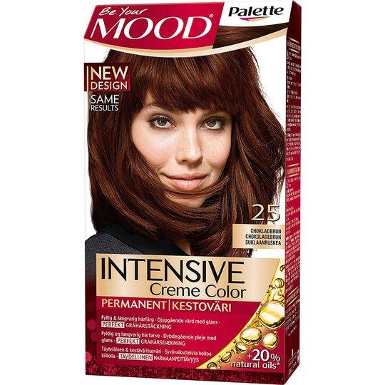 Mood Haircolor 25 Chocolate Brown, MOOD Hiusvärit