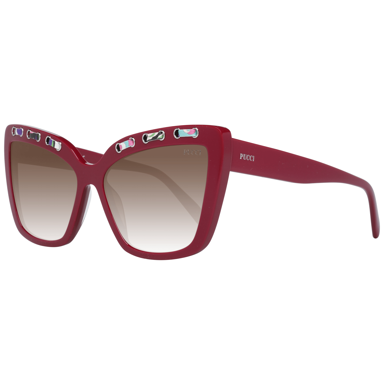 Emilio Pucci Women's Sunglasses Burgundy EP0101 5969F