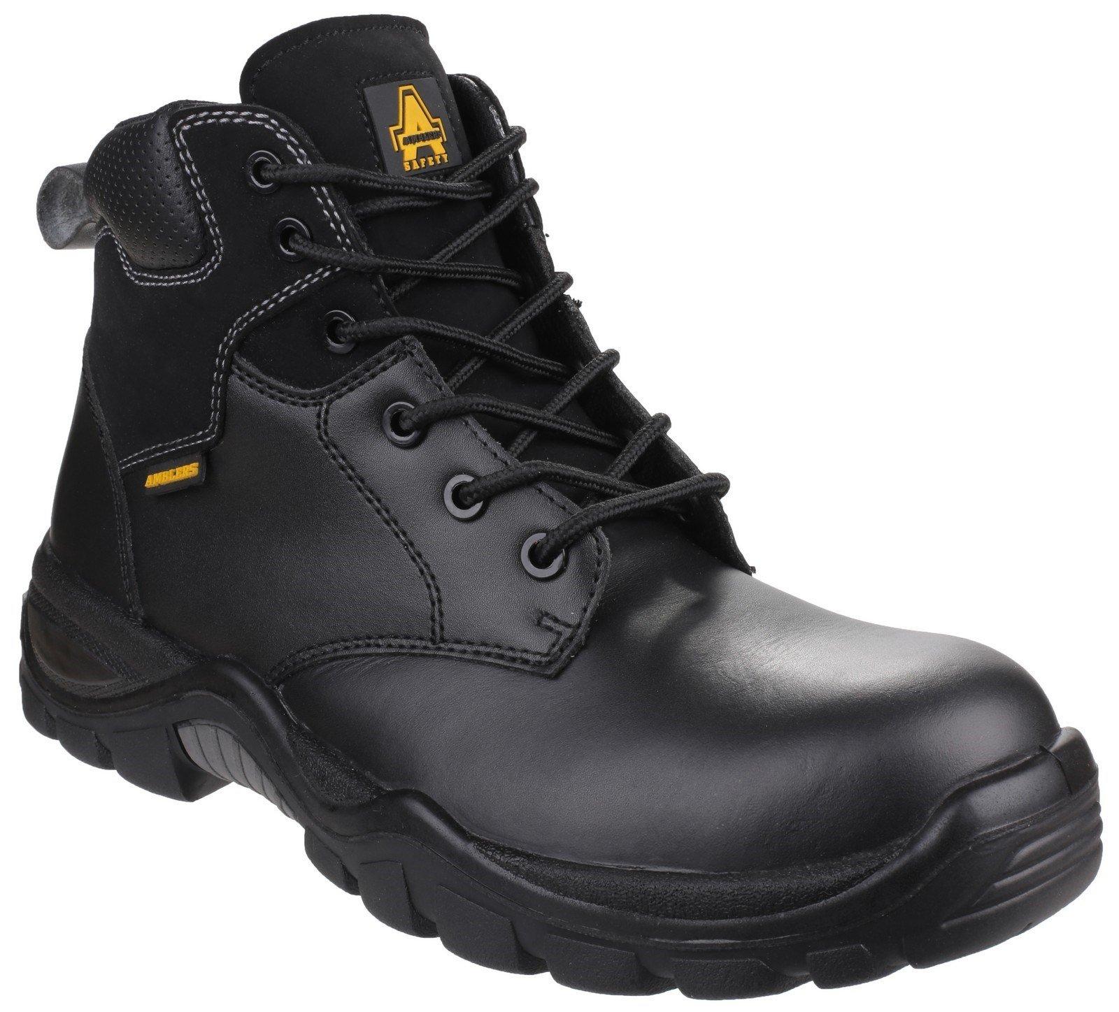 Amblers Unisex Safety Preseli Non-Metal Lace up Boot Black 24870 - Black 10