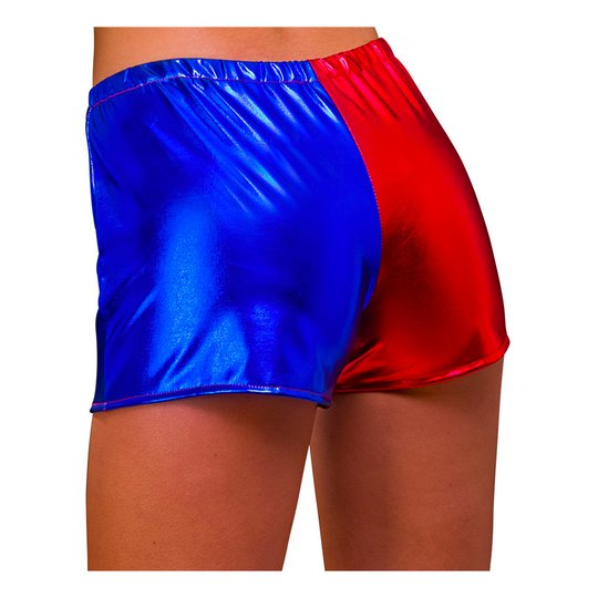 Hotpants Blå/Röd - Medium
