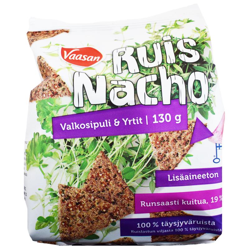 """Ruisnacho """"Valkosipuli & Yrtit"""" 130g - 21% alennus"""