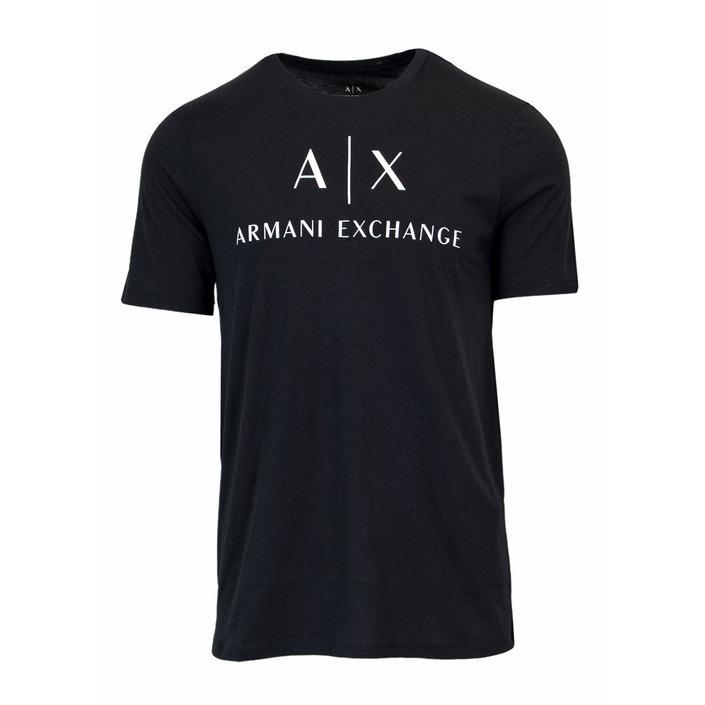 Armani Exchange Men's T-Shirt Black 167910 - black XS