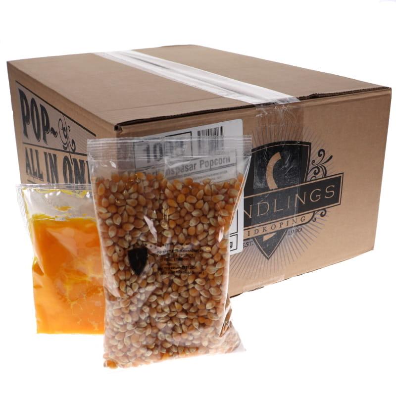 Popcorn Portionspåsar 24-pack - 20% rabatt