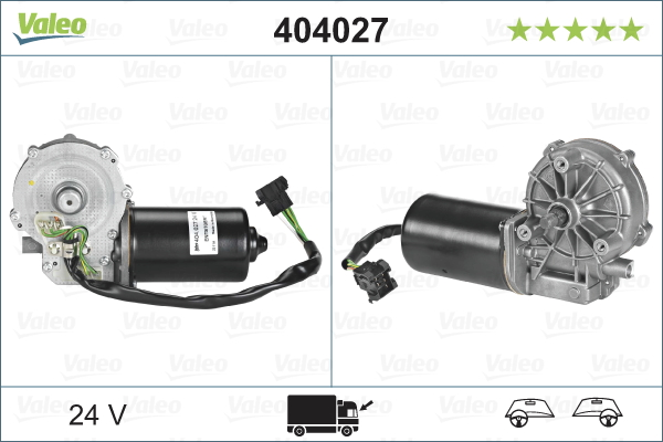 Pyyhkijän moottori VALEO 404027
