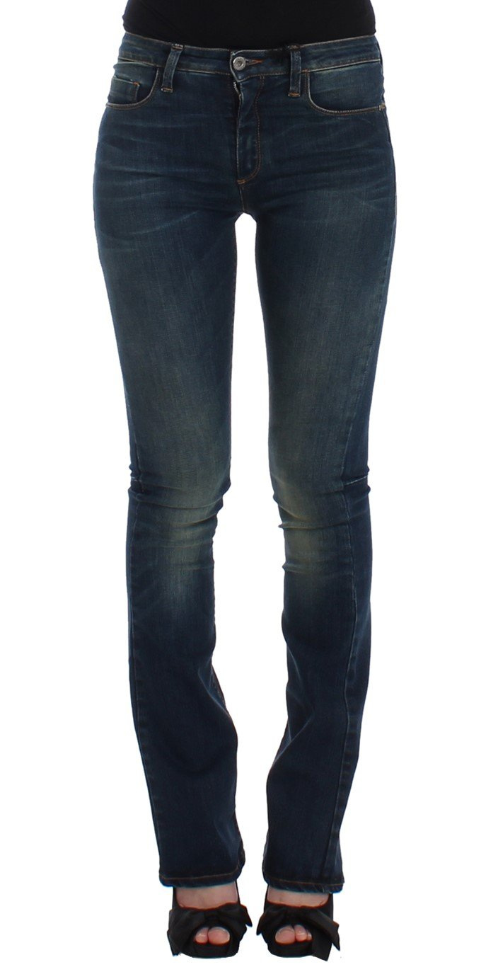 Costume National Women's Straight Leg Jeans Blue SIG12468 - W26