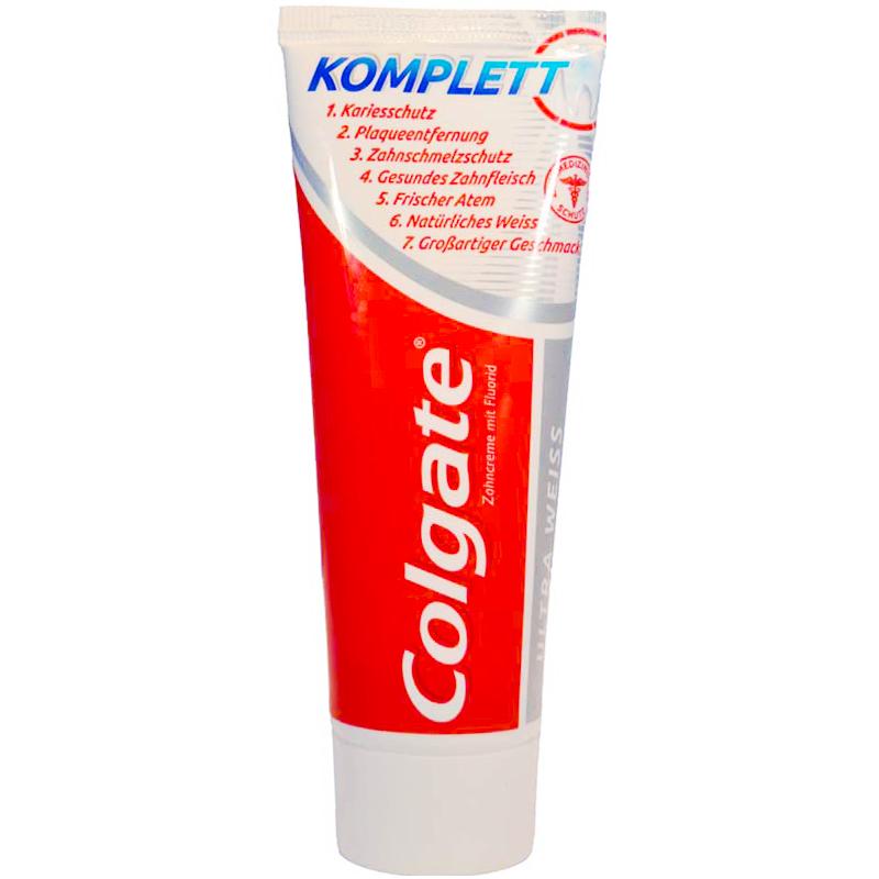 Tandkräm Colgate Complete Ultra vit - 44% rabatt