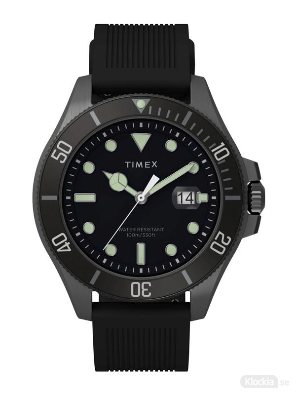 TIMEX City Collection TW2U42000 - Svart Herrklocka
