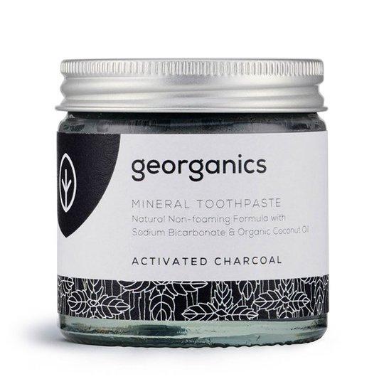 Georganics Naturlig Tandkräm Activated Charcoal, 60 ml