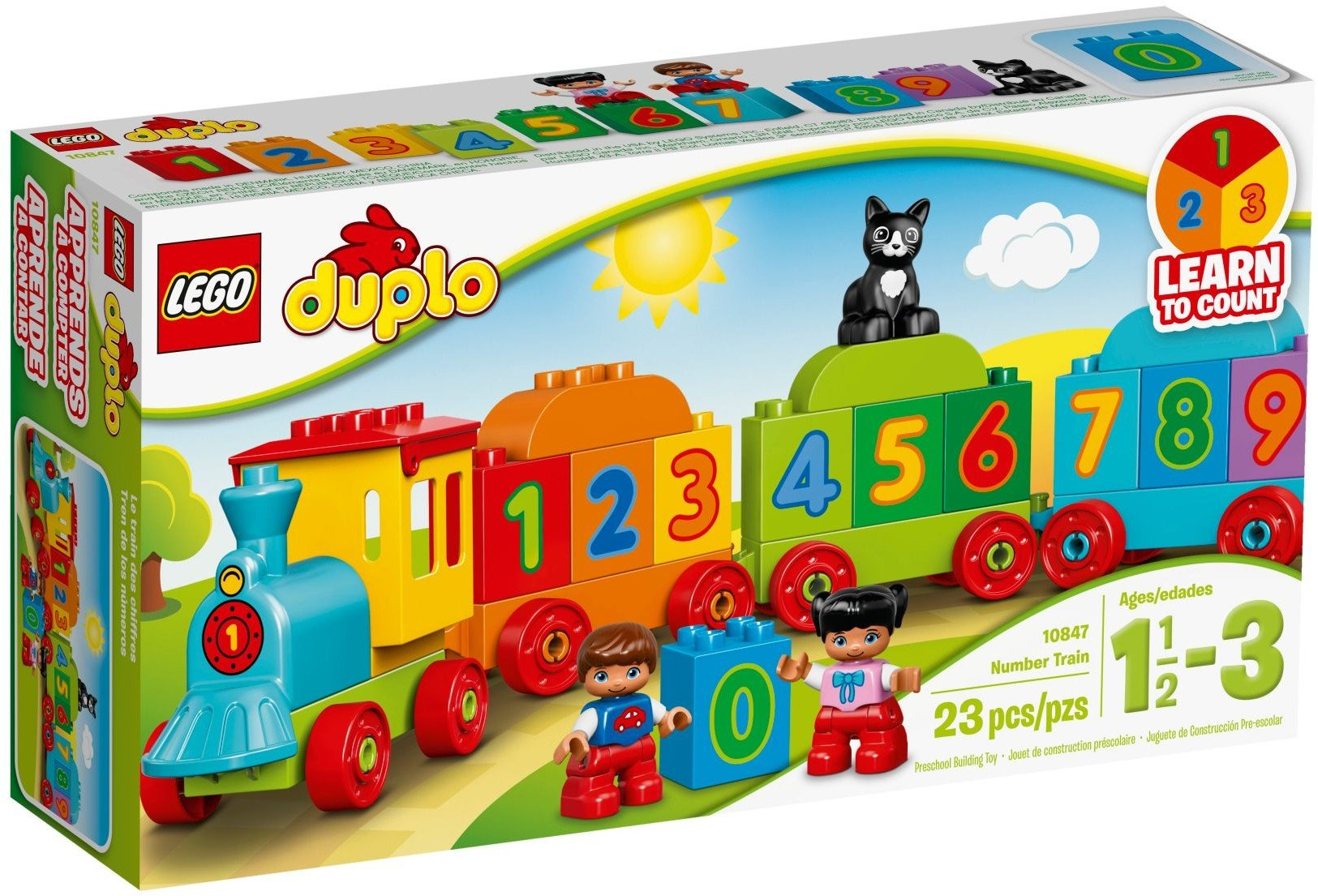 LEGO DUPLO - My First Number Train (10847)