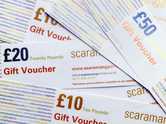 £10 Scaramanga Gift Voucher