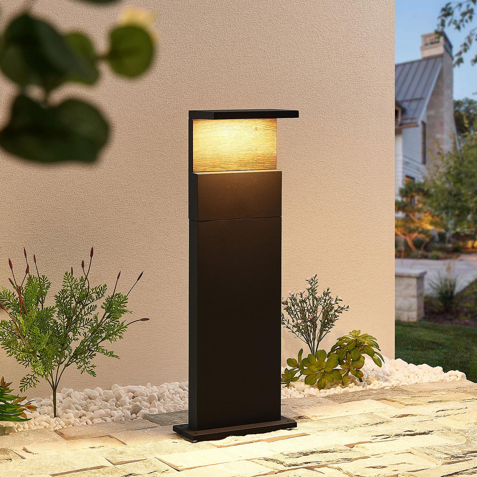 Lucande Lignus -LED-pollarivalaisin