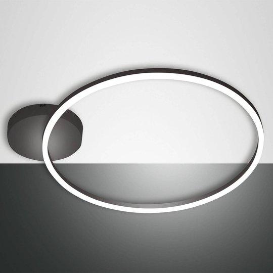LED-taklampe Giotto 1 lyskilde, svart