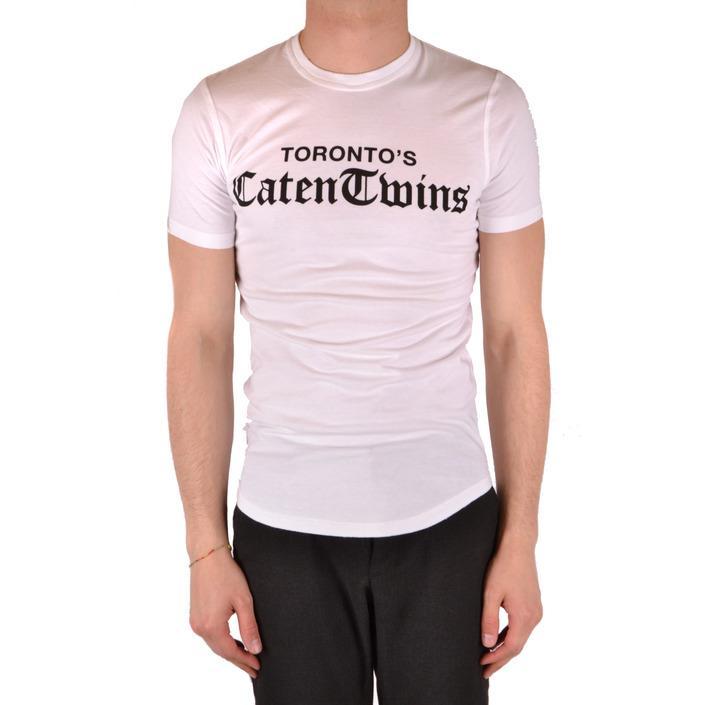 Dsquared Men's T-Shirt White 167570 - white XS