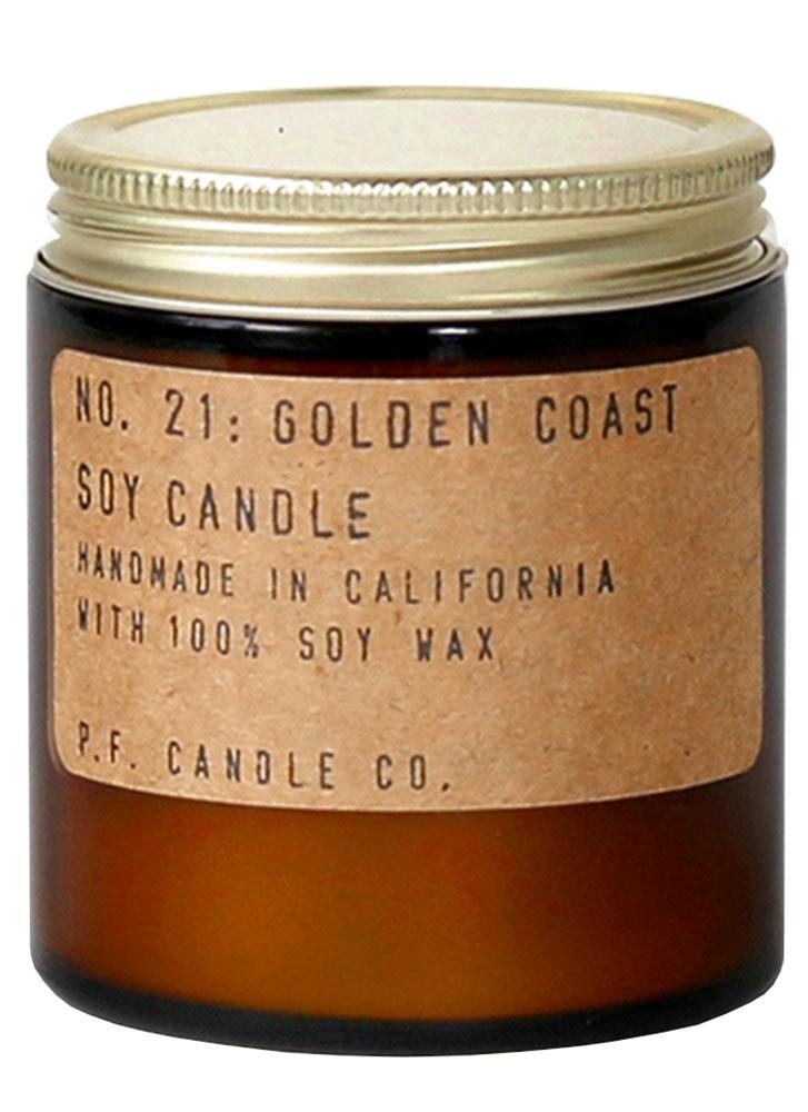 P.F. Candle Co. No. 21 Golden Coast Mini Soy Jar Candle