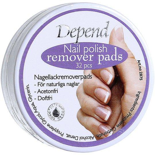 Nail Polish Remover, Depend Depend Kynsilakat