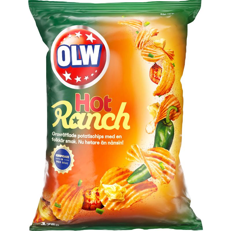 Chips Hot Ranch - 34% rabatt