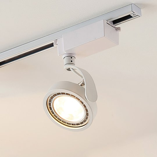 1-vaihe-LED-kohdevalaisin Rick valkoinen