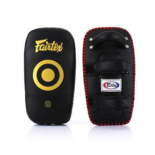 Fairtex KPLC5, Thai Pads, Black/Yellow, 2 st