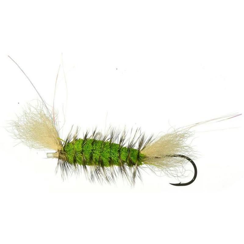 Tube Bomber Black/High Viz Green - Small Kjøp 12 fluer få gratis flueboks