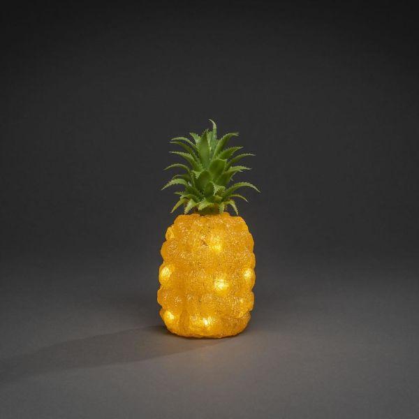 Konstsmide Ananas Koristevalaisin 16 lamppua, 26 cm