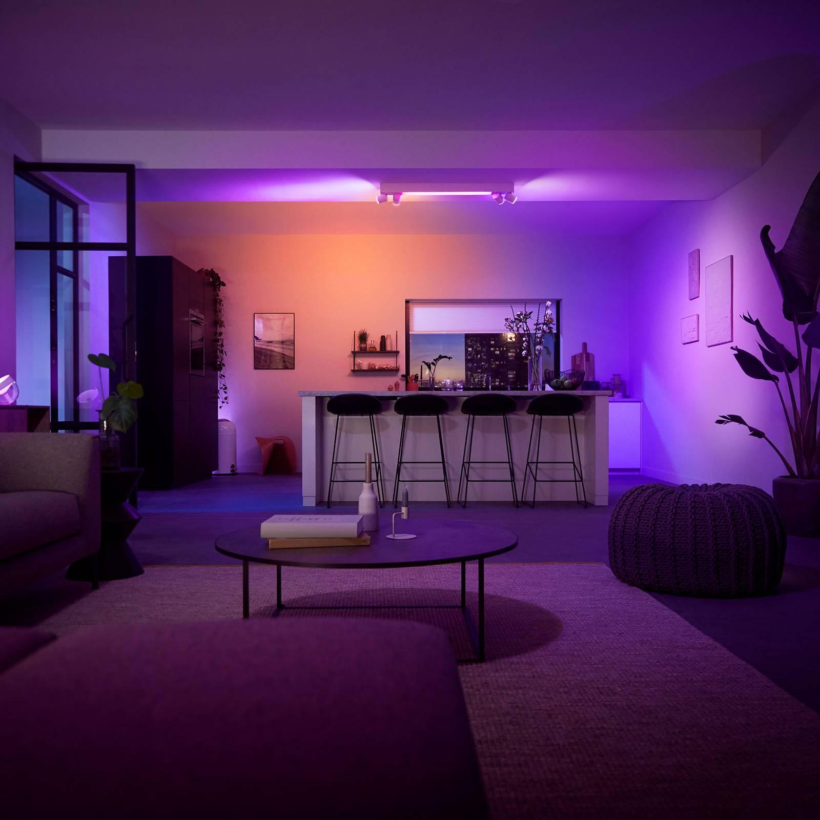 Philips Hue Centris kattospotti 4-lamppuinen