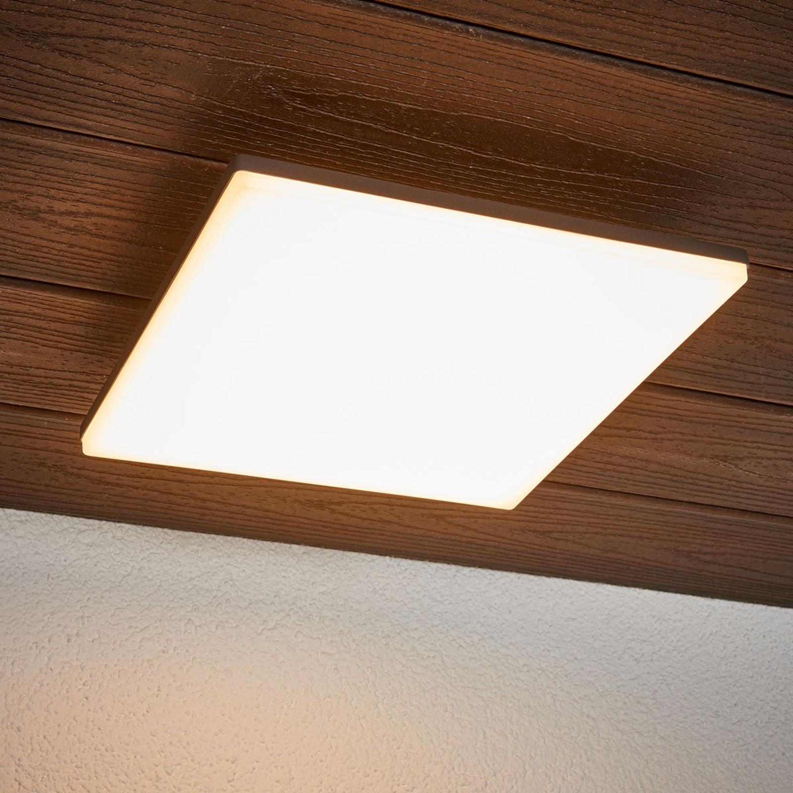 Tunnistinohjattu Henni-kattovalaisin LED-valoilla