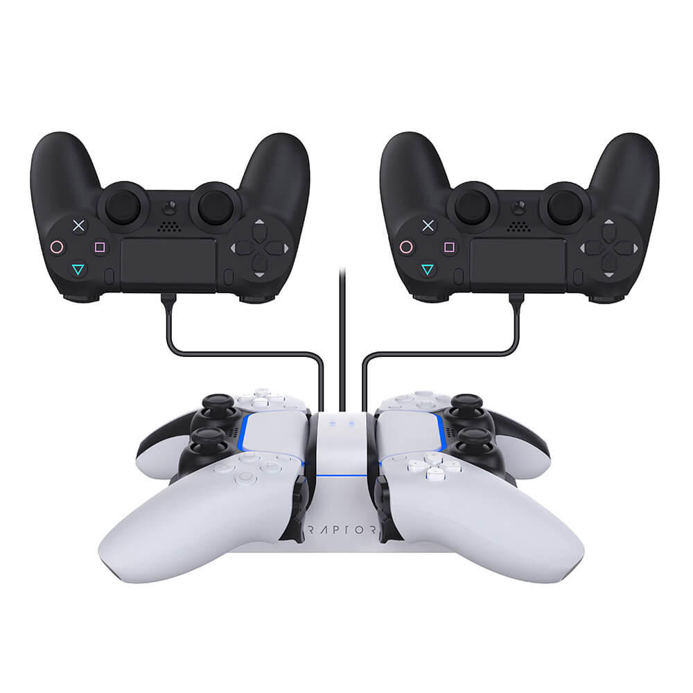Raptor - Dual Charging Dock For Controllers PS5 / PS4
