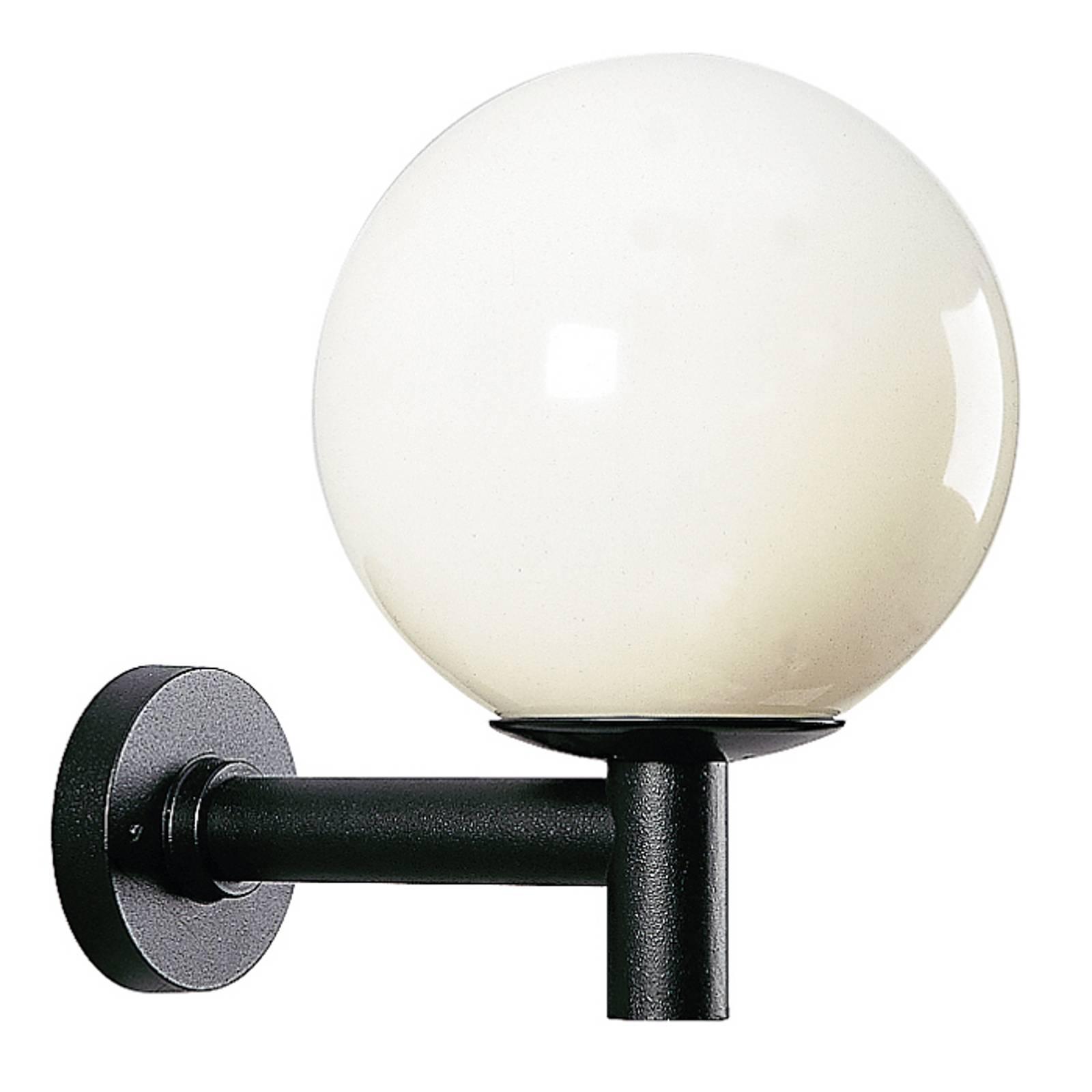 Pallonmuotoinen ulkoseinävalaisin, läpimitta 35 cm