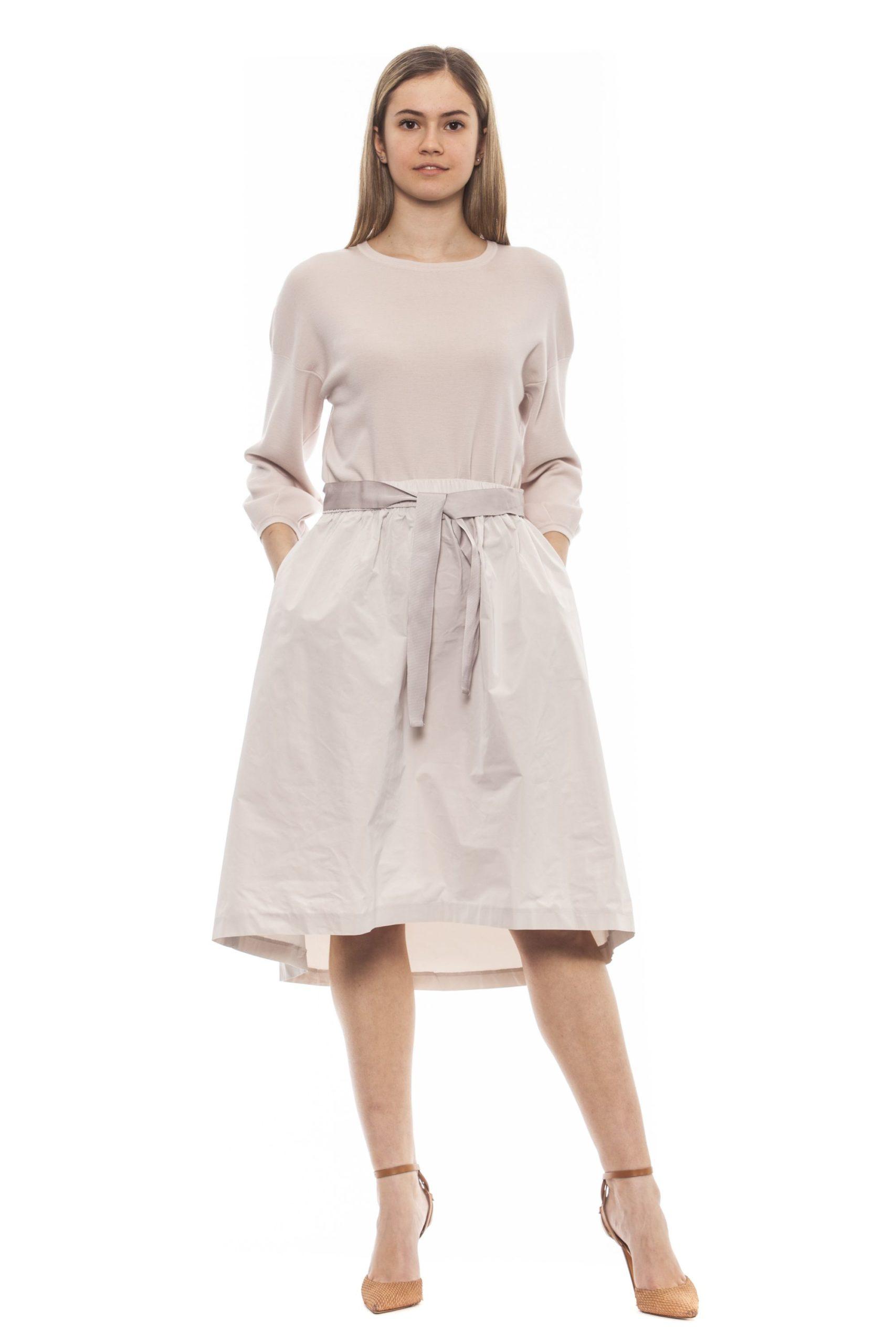 Peserico Women's Dress Beige PE1381577 - IT42 | S