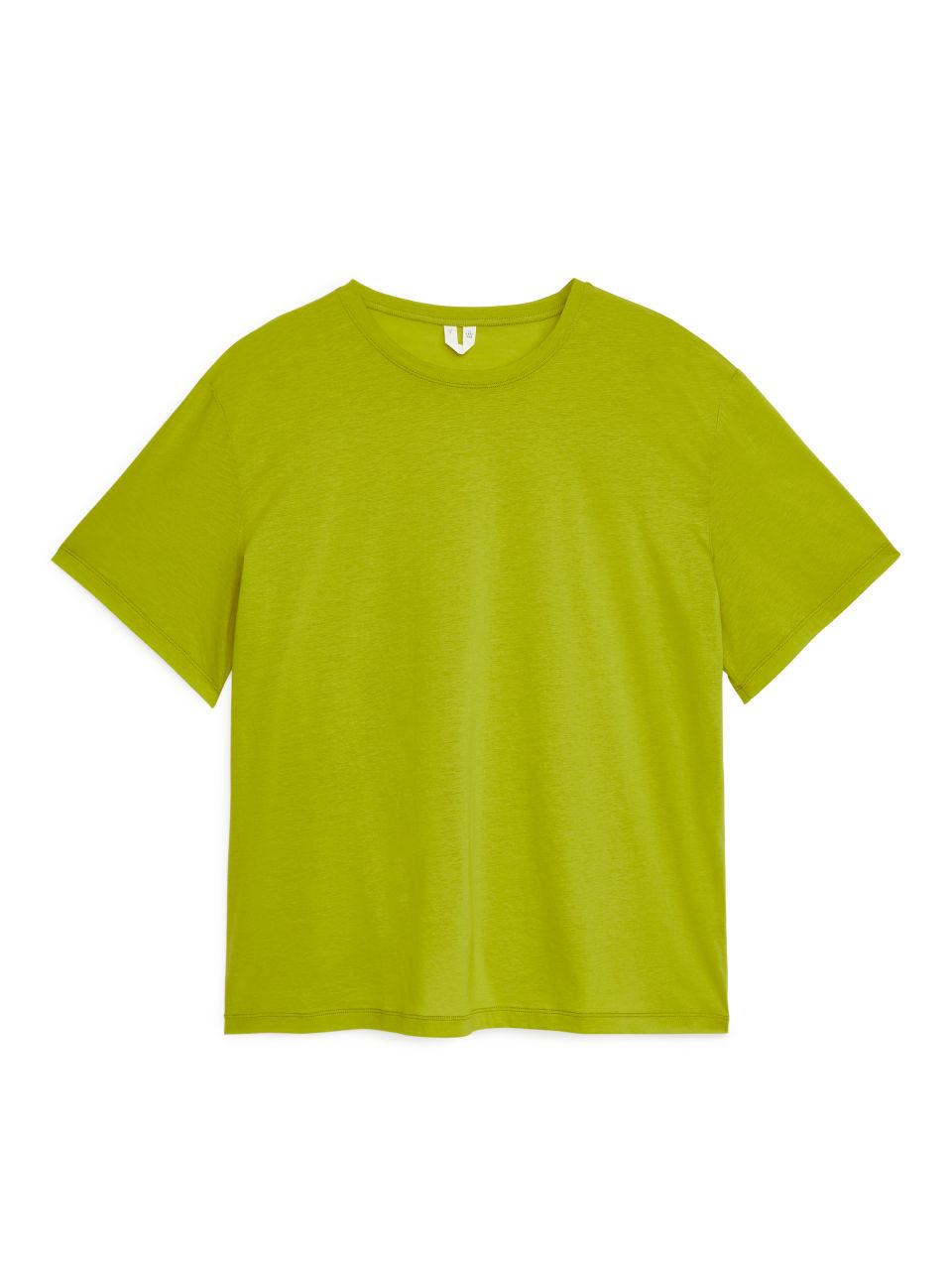 Pima Cotton T-Shirt - Green