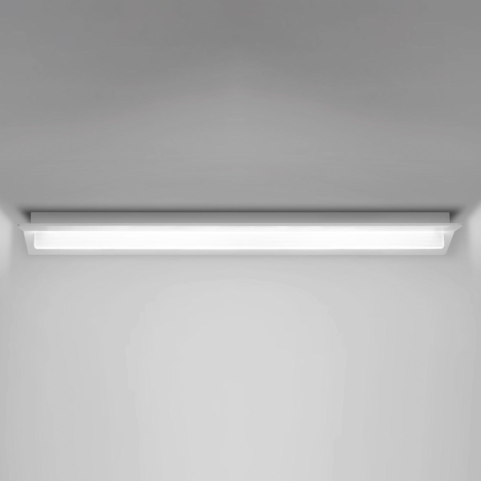 Flurry LED-taklampe, 70 cm, hvit