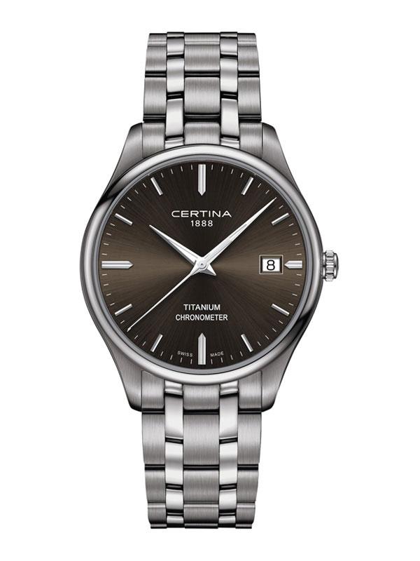 CERTINA DS-8 Chronometer Titanium C033.451.44.081.00