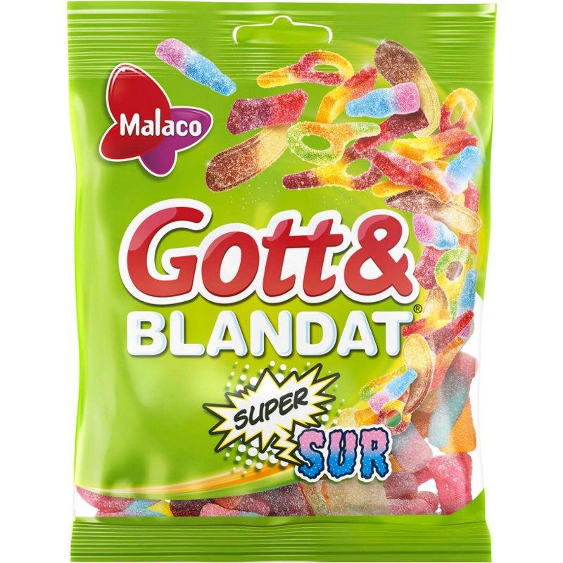 "Godismix ""Gott & Blandat Supersur"" 170g - 47% rabatt"