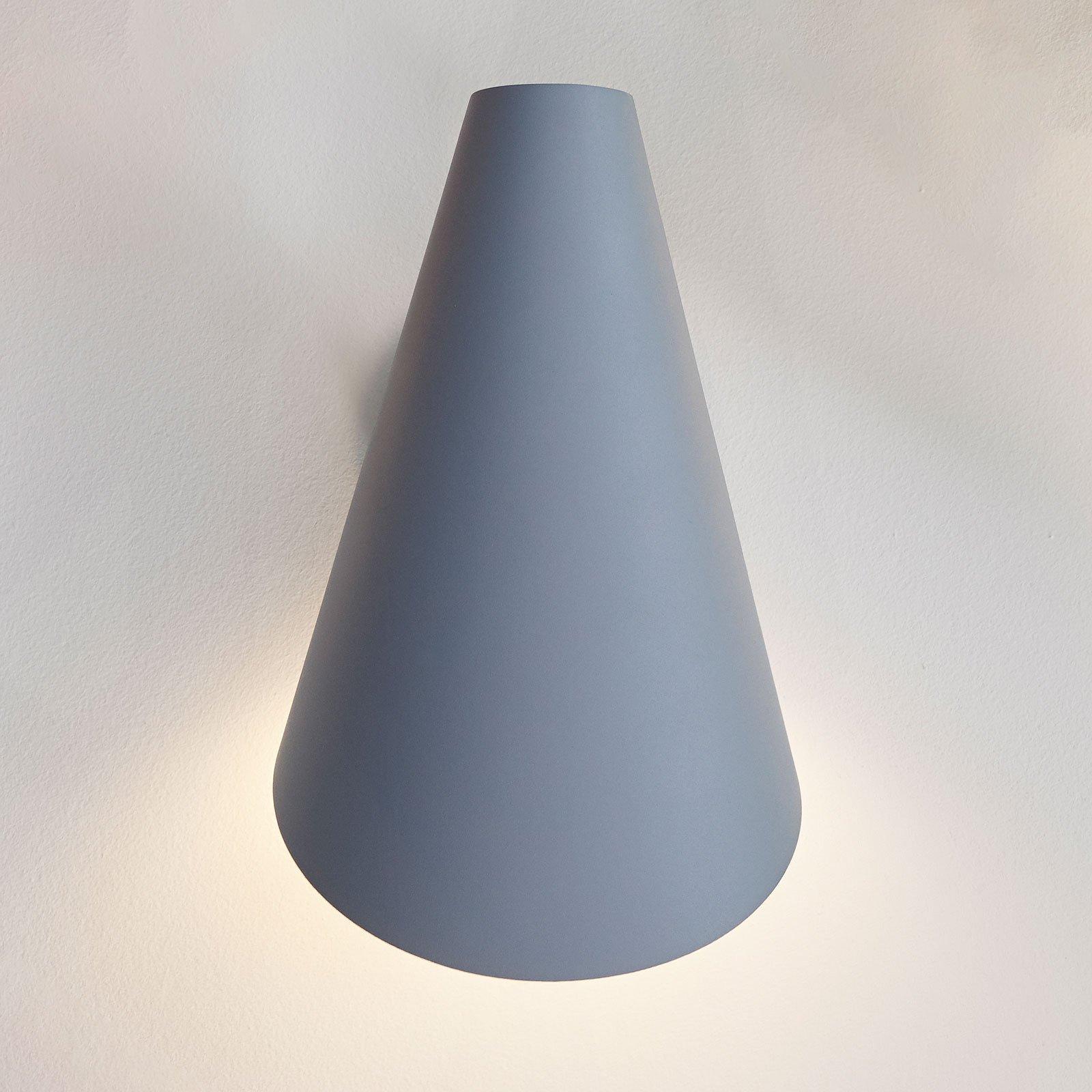 Vibia I.Cono 0720 vegglampe, 28 cm, blå