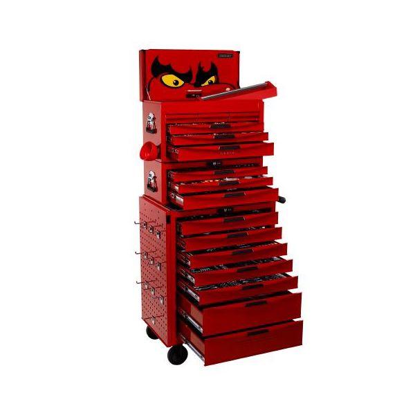 Teng Tools TCMM1055N Verktøyvogn med verktøysett, 1055 deler
