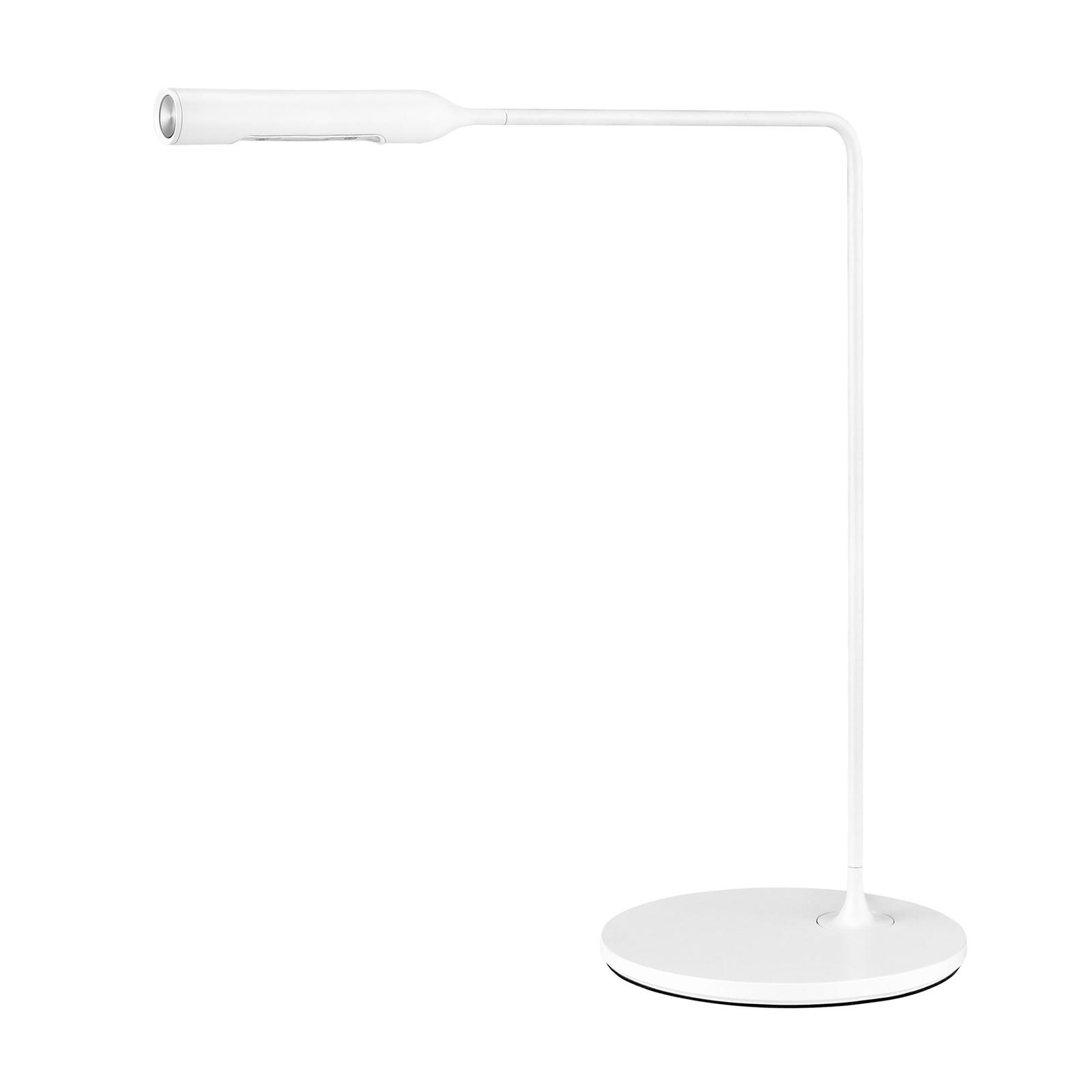 Lumina Flo -LED-pöytälamppu 3 000 K valkoinen