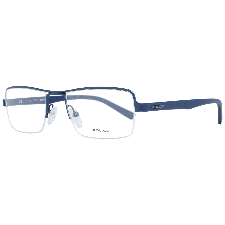 Police Men's Optical Frames Eyewear Blue PL257 520C07