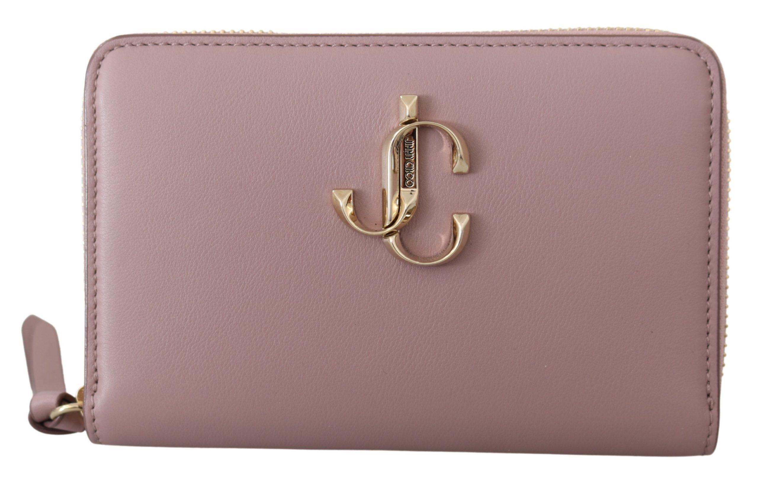 Jimmy Choo Women's Christie Wallet Powder Pink 1436118