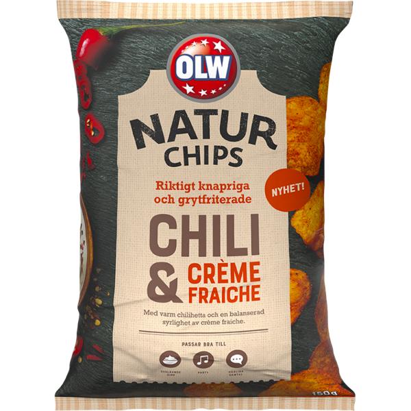 OLW Naturchips Chili Créme fraiche