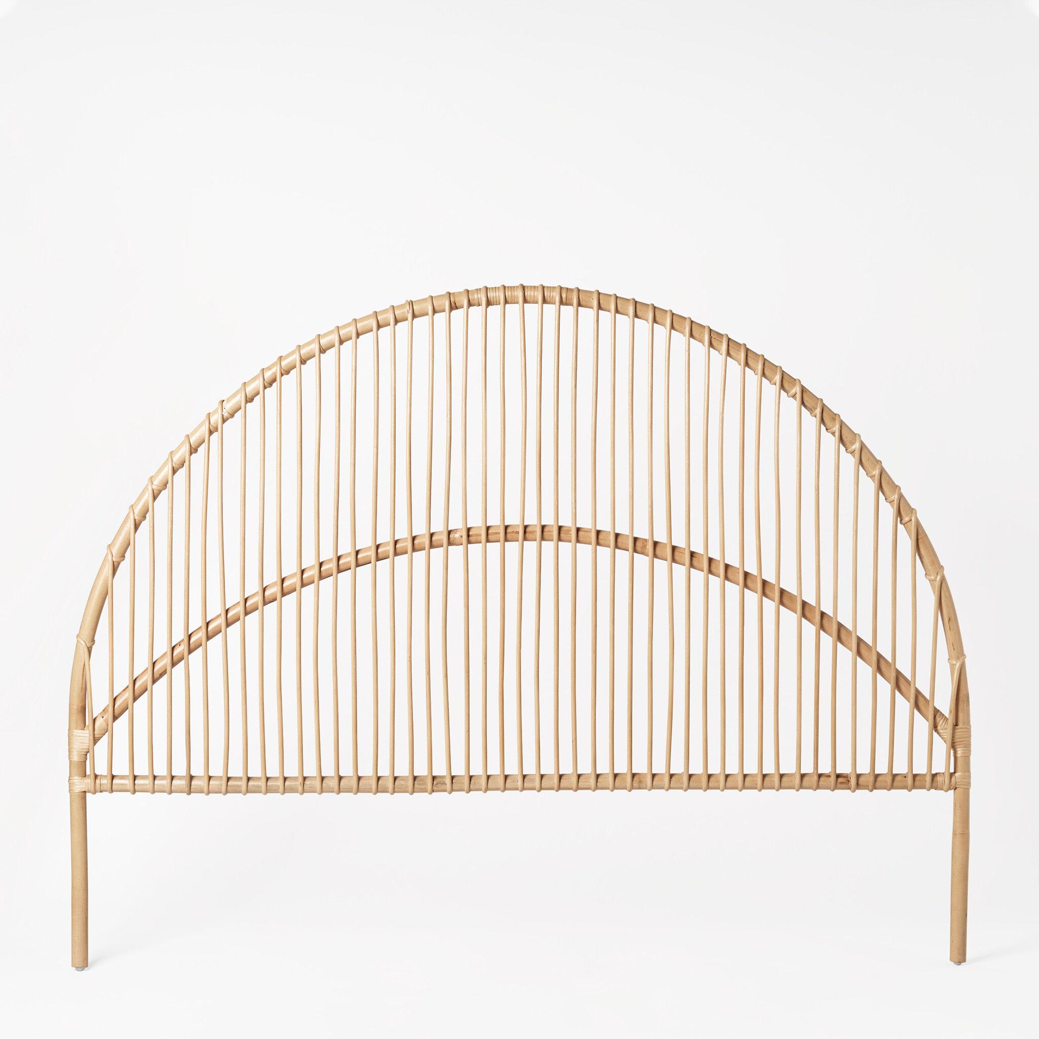 Sänggavel RATTAN 180 cm
