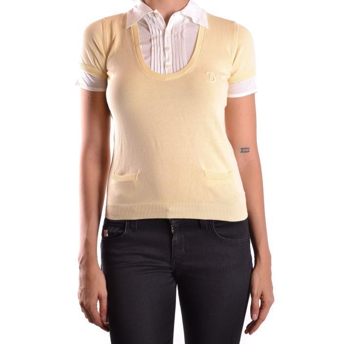Dsquared Women's T-Shirt Yellow 167710 - yellow S