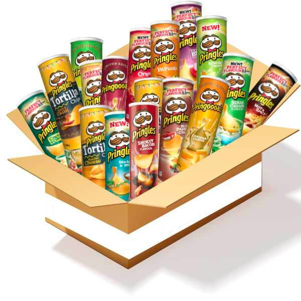 Pringlesboxen - 3.23kg