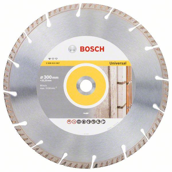 Bosch Standard for Universal Diamantkappskive 300x22,23mm 1-pakn.
