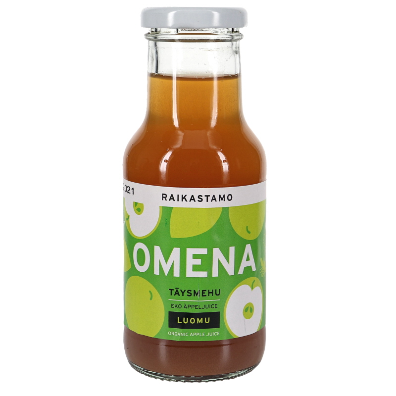 Luomu Omena Täysmehu - 40% alennus