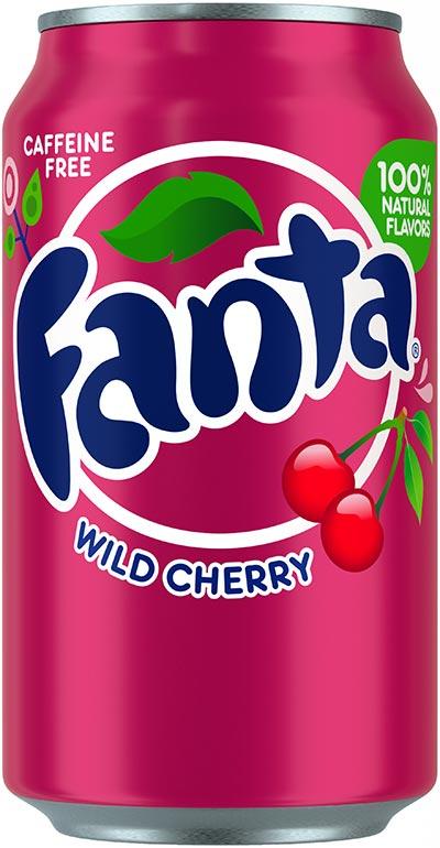 Fanta Wild Cherry 355ml