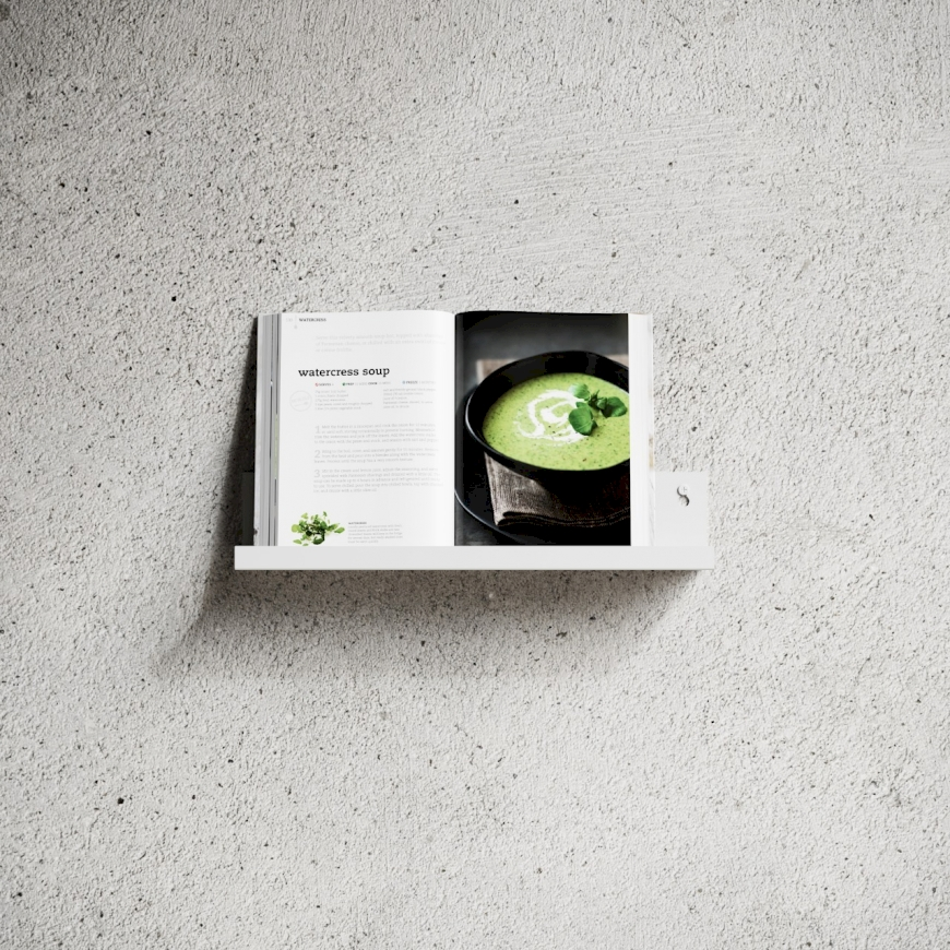 Nichba - Shelf L40 - White (L100108W)