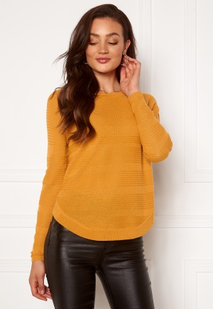 ONLY Caviar L/S Pullover Golden Yellow L