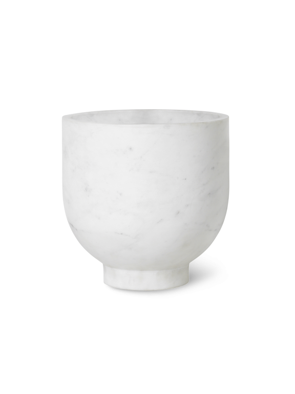 Ferm Living - Alza Champagne Cooler - White Marble (4245)