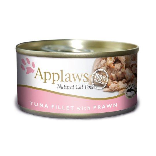Applaws Tuna Fillet&Prawn Konserv (70 g)