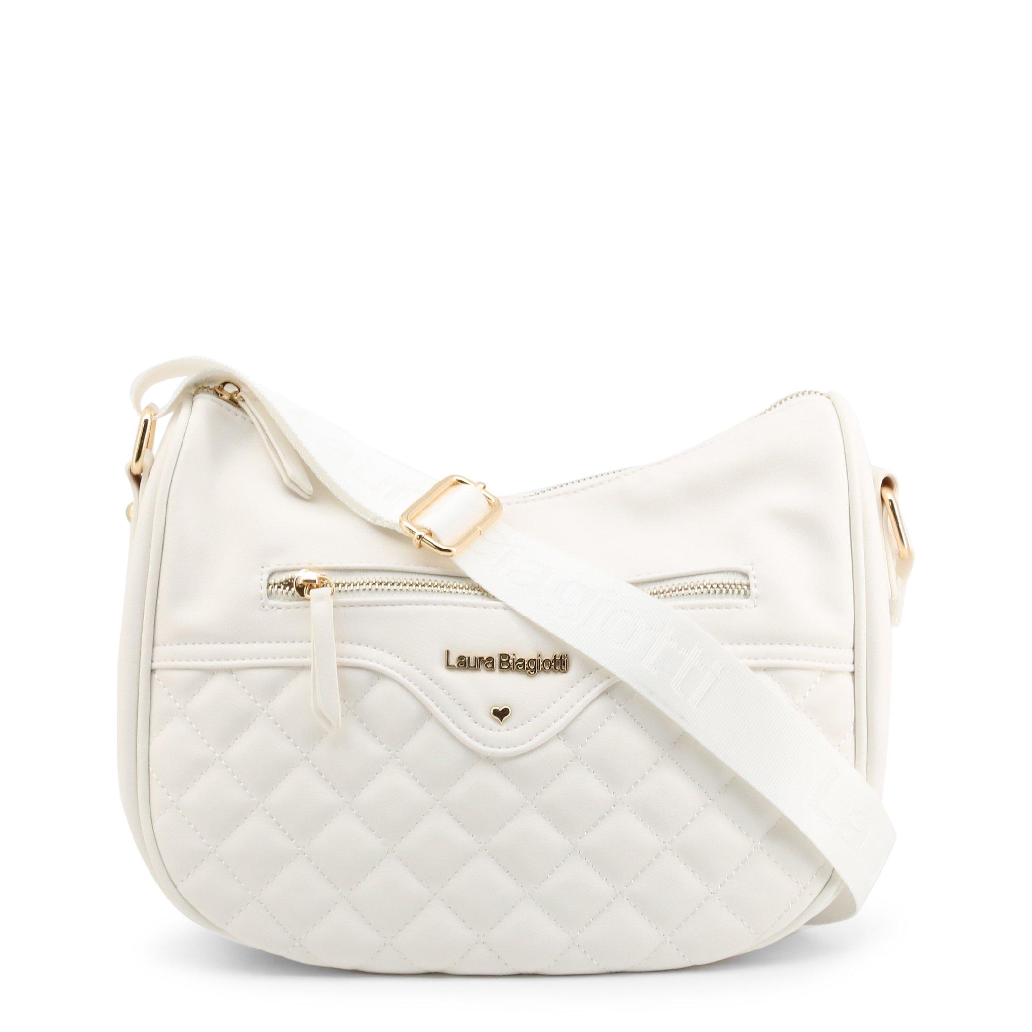 Laura Biagiotti Women's Crossbody Bag Various Colours Perkins-102-1 - white NOSIZE